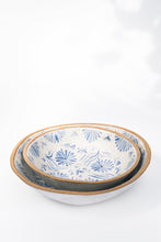 Load image into Gallery viewer, Low and Wide Gardener's Serving Bowl - Large