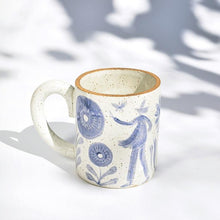 Load image into Gallery viewer, Tall Gardener's Mug with Round Handle