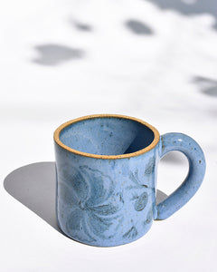Wildflower Tall Mug in Cornfield Blue