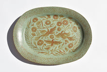 Load image into Gallery viewer, Birds in the Garden Large Oval Platter