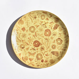 Gardener's Dinner Plate in Yellow