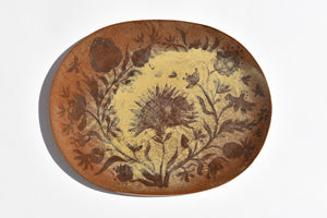 Blooming Bouquet Oval Platter