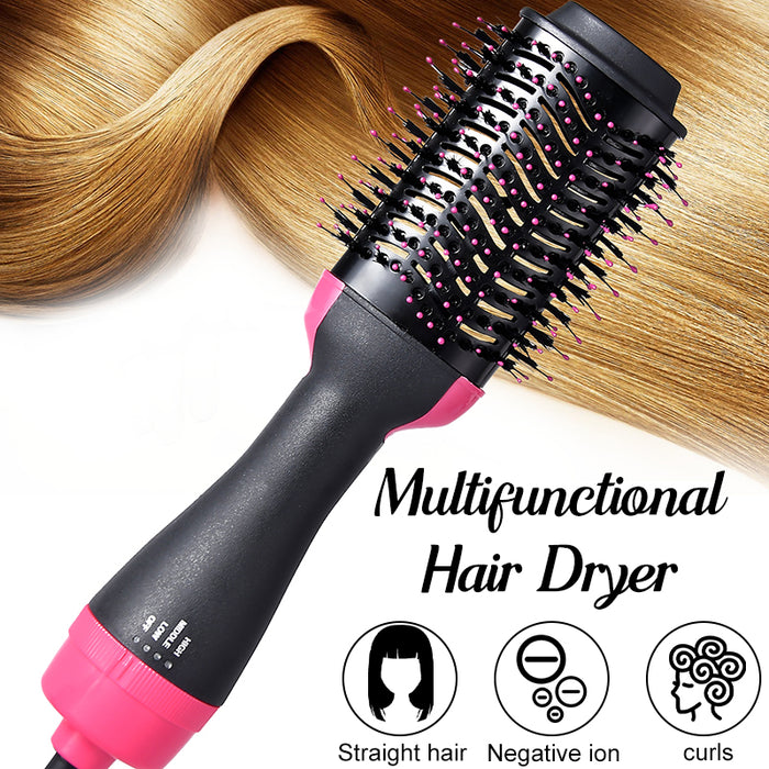 2 in 1 Hair dryer and volumizer brush