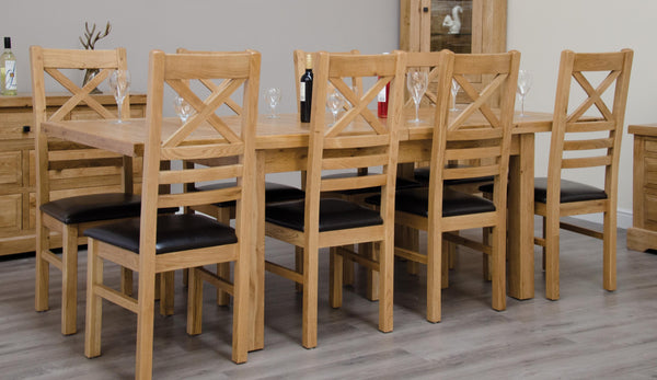 Warwick Oak 150cm Extending Table