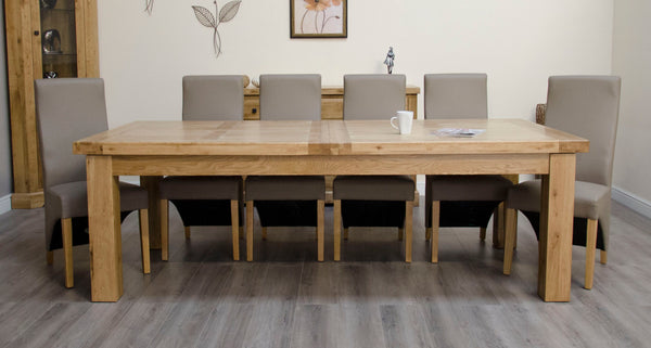 Warwick Oak 240cm Extending Table