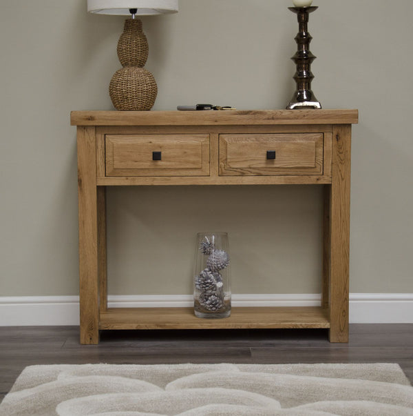 Warwick Oak Console Table