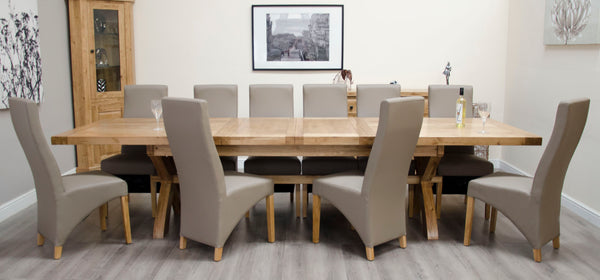 Warwick Oak Extending Super X Leg Table