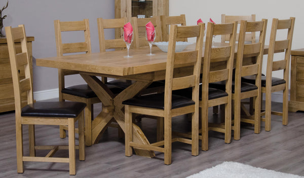 Warwick Oak Ladderback Dining Chair