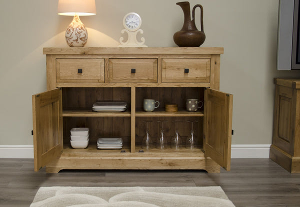 Warwick Oak Medium Sideboard