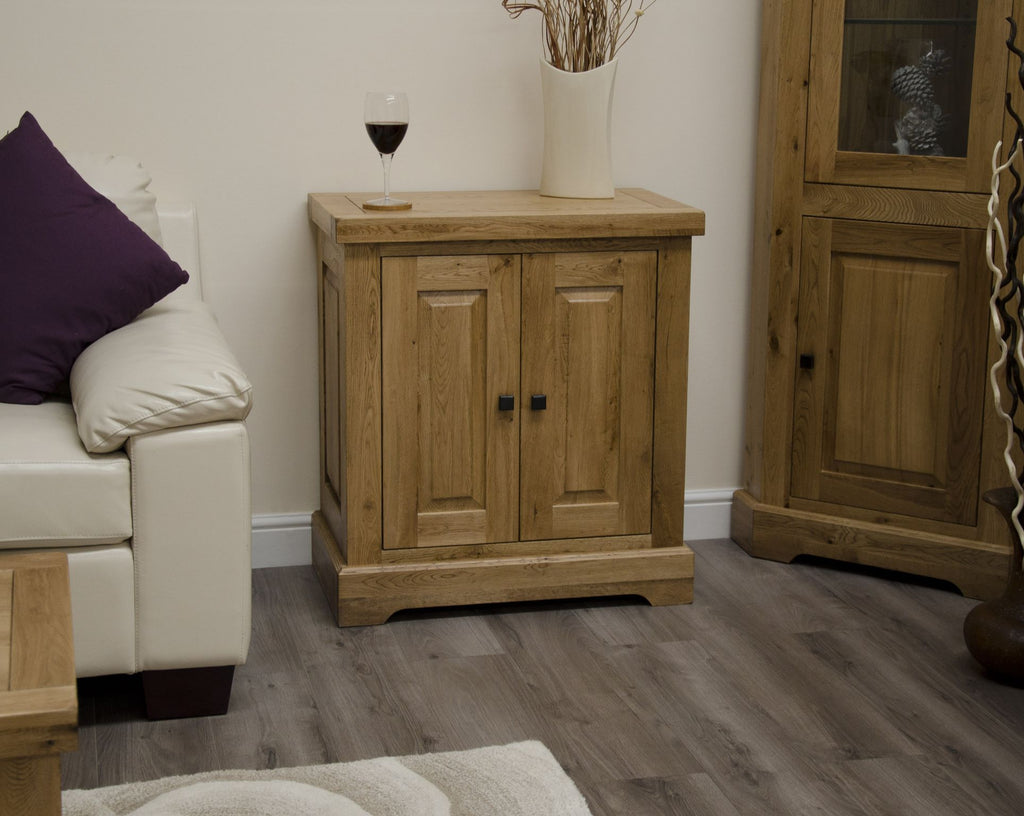Warwick Oak Occasional Cupboard