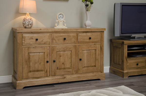 Warwick Oak Large Sideboard