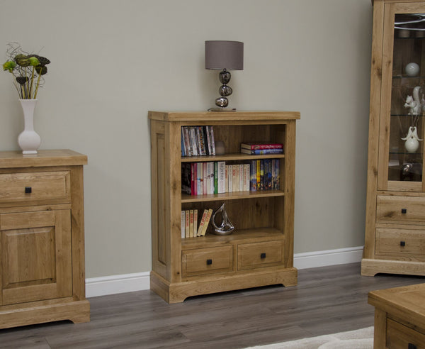 Warwick Oak Small Bookcase