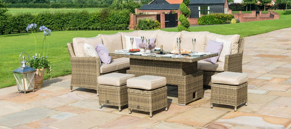 Winchester Corner Dining Sofa Set With Ice Bucket
