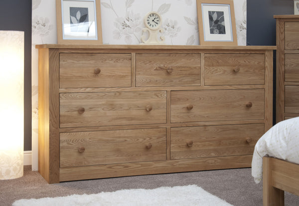 Torino 7 Drawer Wide Chest Of Drawers