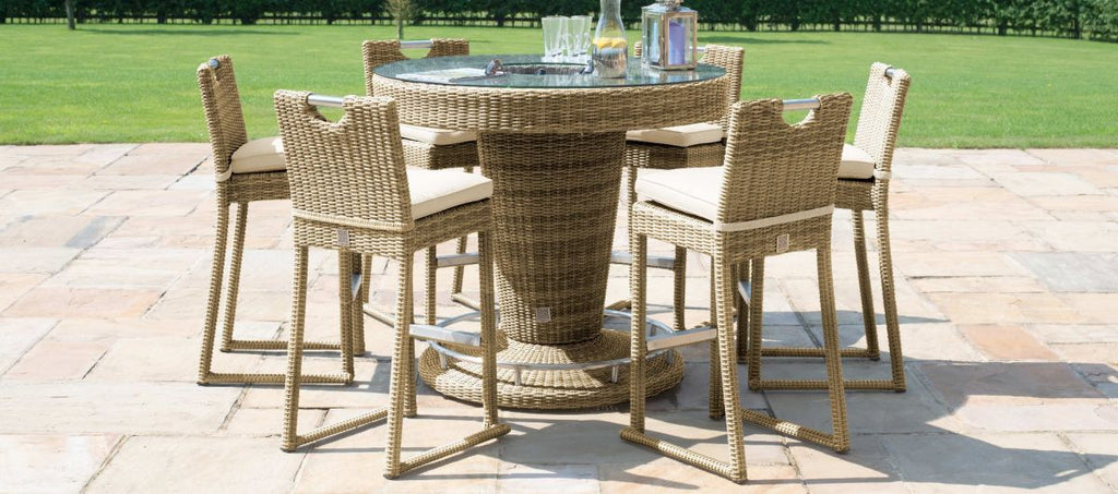 Winchester 6 Seater Round Bar Set With Ice Bucket
