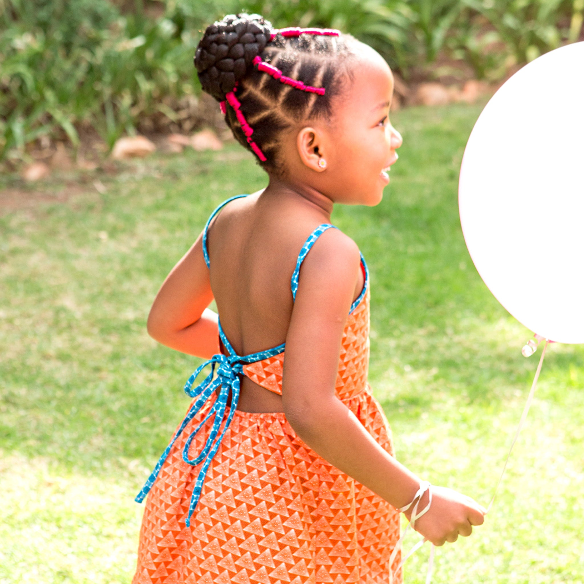 Girls Strappy Sundress Khensani - LESEDI