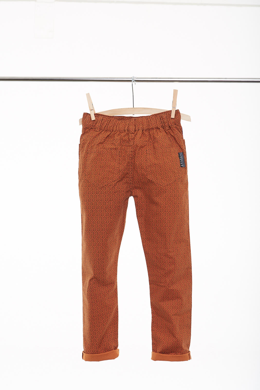 "Boys Slim Fit Stone Washed Trouser ""Mpilo"" - LESEDI"
