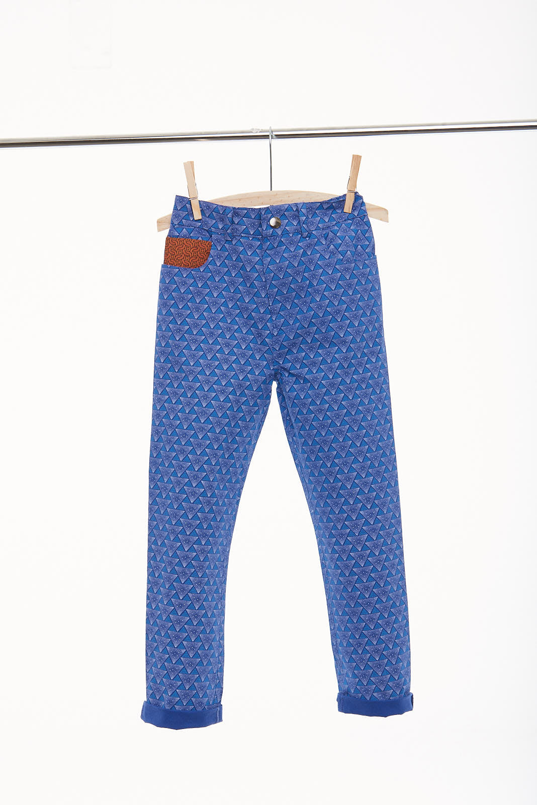 "Boys Slim Fit Stone Washed Trouser ""Prague"" - LESEDI"