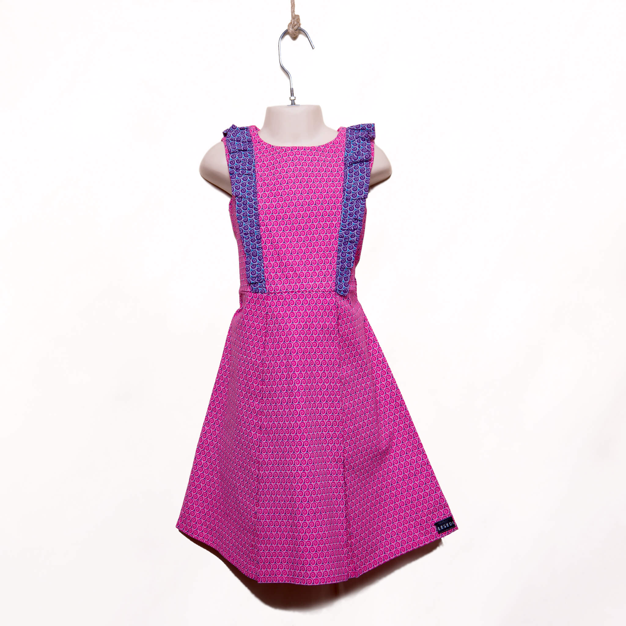 Girls Ruffle Party Dress Kezia - LESEDI