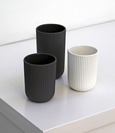 White Column Coffee Cup