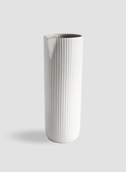 White Column Carafe | Water Jug