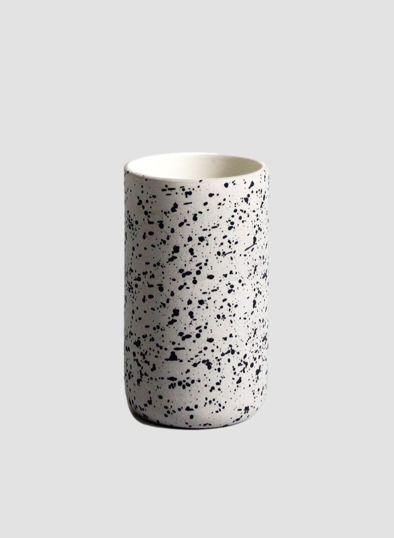 Speckled Grey Latte Coffee Mug