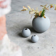 Grey Ball Vase | 10cm