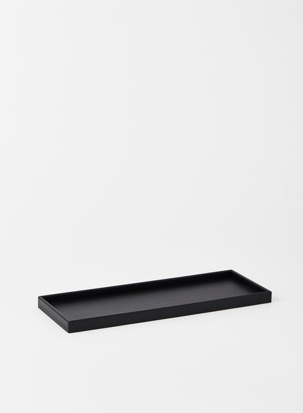 Large Black Rectangular rubber Tray