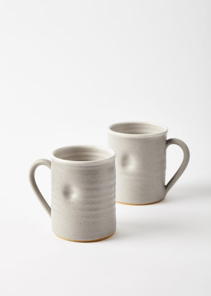 cool grey ceramic mug