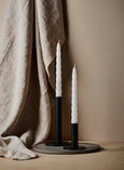 Medium Black Candlestick Holder