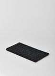 Large Black Speckle Wave Tray