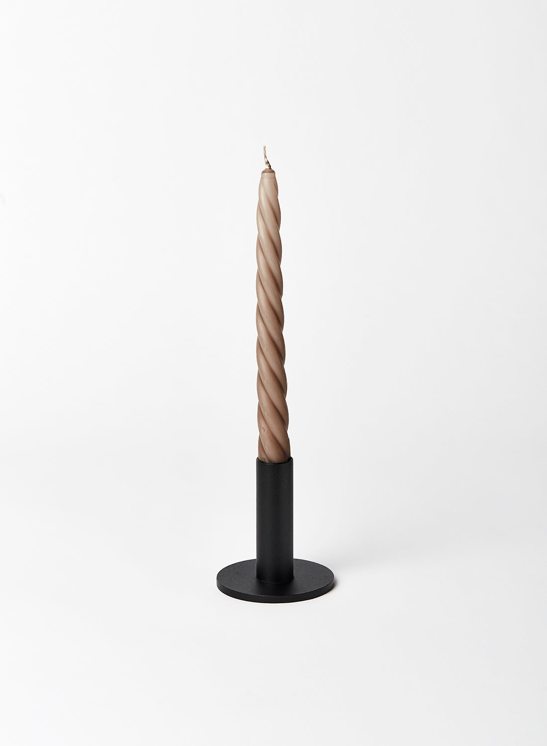 Small Black Candlestick Holder