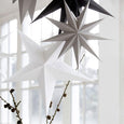 White Christmas Star Decoration |  60 cm