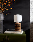 Nove Cork Stacked Table Light