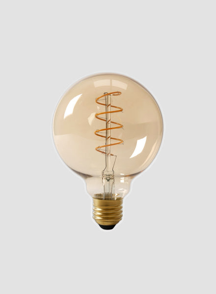 Extra Large Spiral Globe LED Filament Bulb
