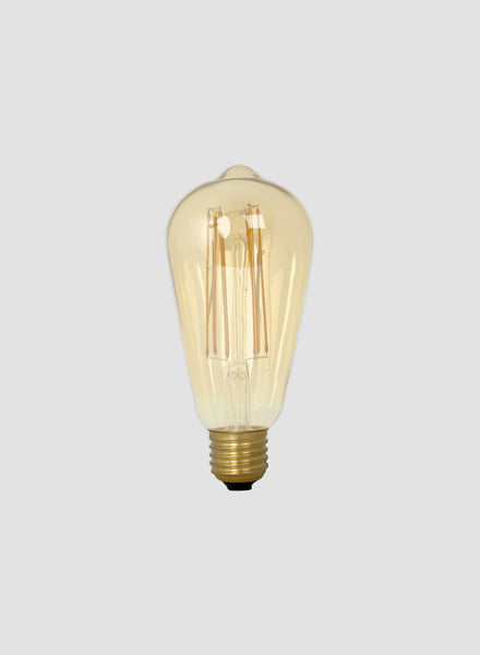 Large Teardrop LED Filament Bulb