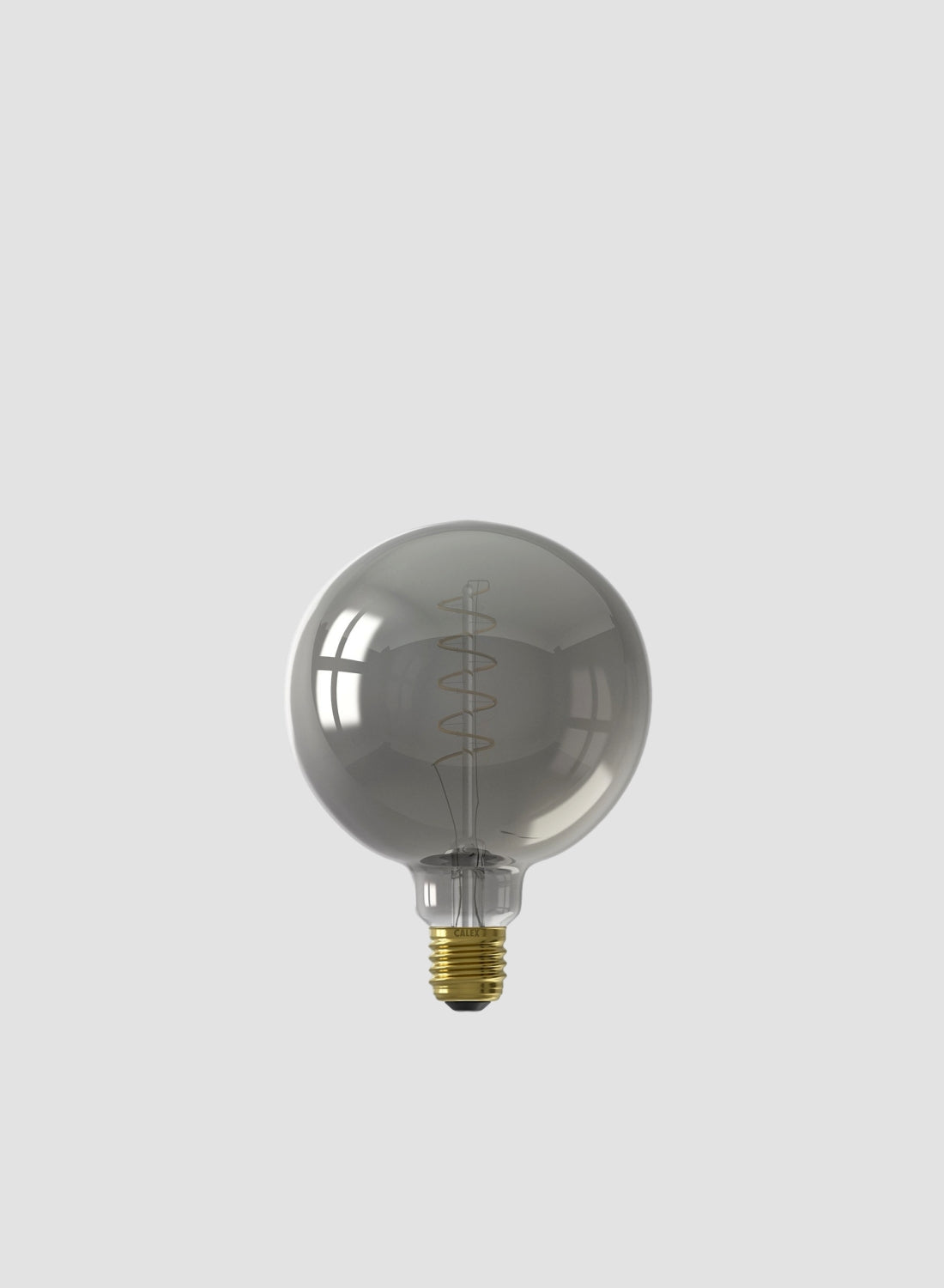 extra large smoked glass led filament bulb