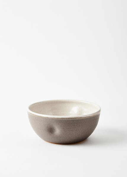 warm grey bowl