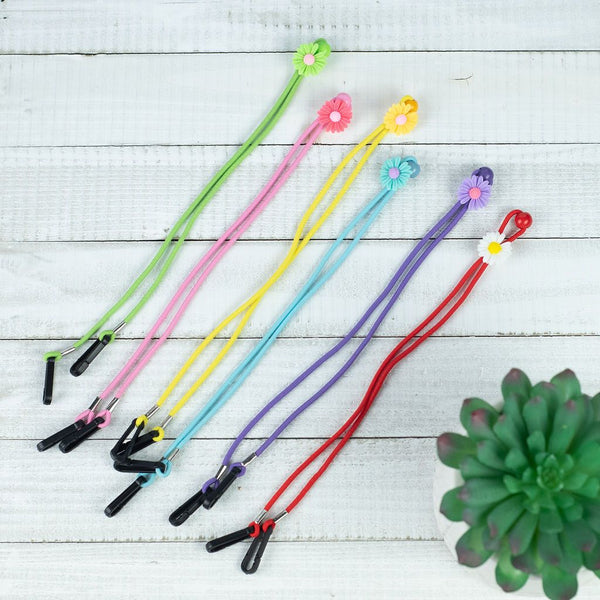 Flower Lanyard For Face Masks with Flower