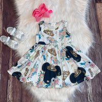 Minnie Crowned Princess Tank Dress