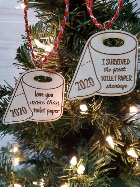 2020 Toilet Paper Ornament