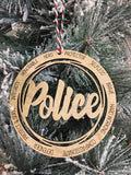 4inch Wooden Ornaments