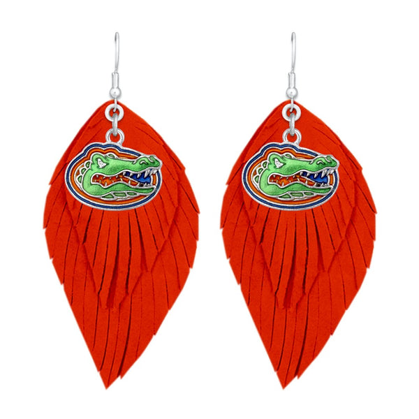 Florida Gators Drop Earrings