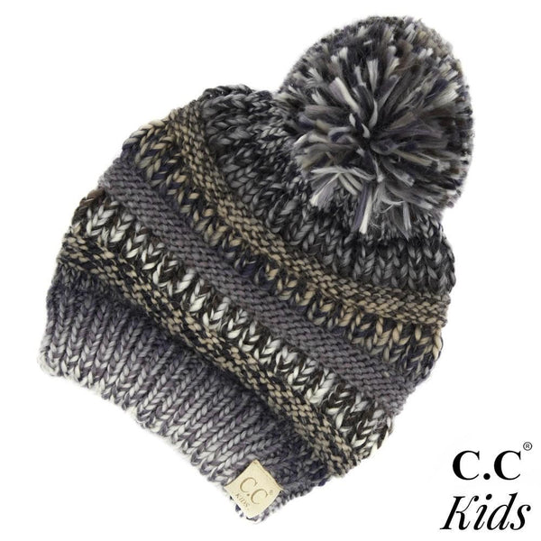 C.C Kids Beanie With Pom