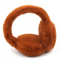 C.C Faux Fur Earmuffs - Rust Only