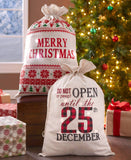 Lighted Christmas Gift Sacks
