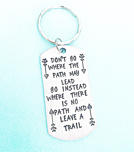 Arrow Keychain Don't go where the path may lead ...