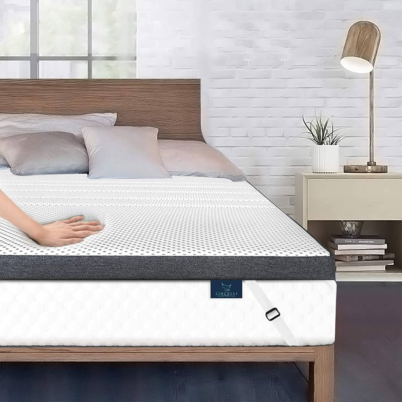 Lincelli is Italian luxury brand for bedding product, covering mattress topper pillow that offers you the best night sleep we are have Amazon store covering USA north america clients and we have antibacteria Gel-infused technology work well in covid envir