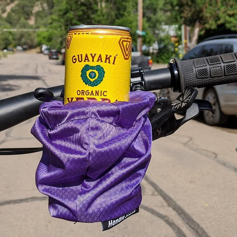 HandleStash Bike Cup Holder With Can