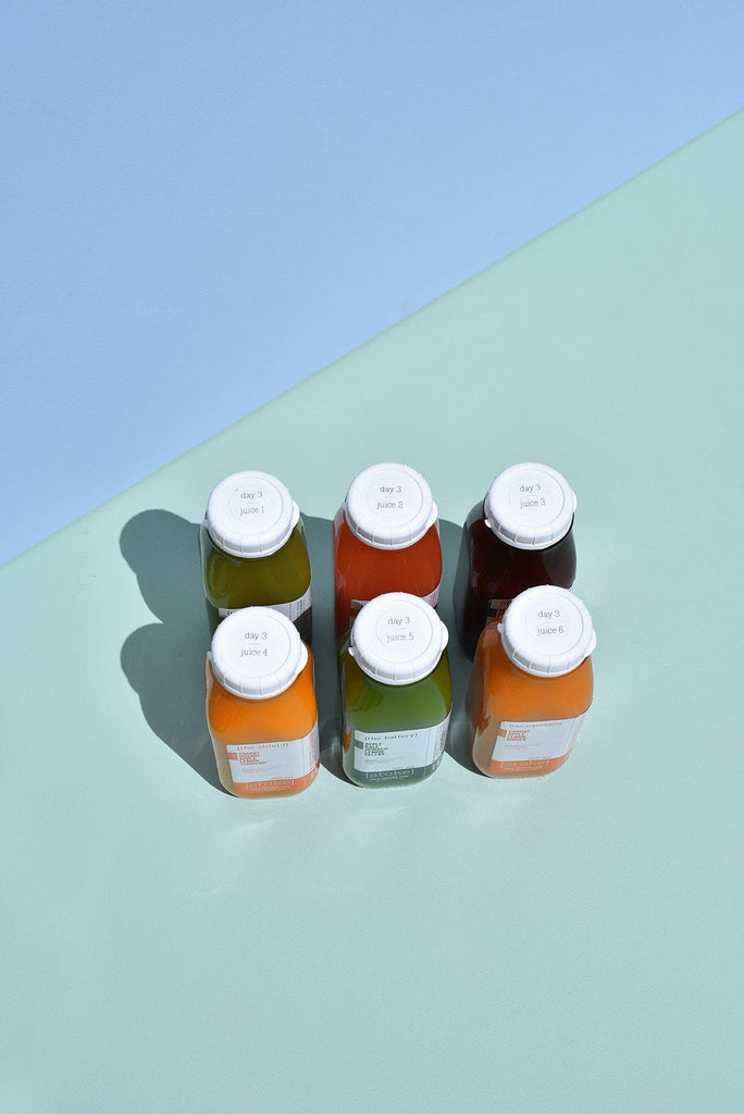 [ reset ] 5 day cold pressed juice cleanse - level 2